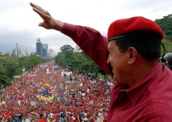 Presiden Hugo Chaves, pemimpin revolusioner terbesar di zaman kita