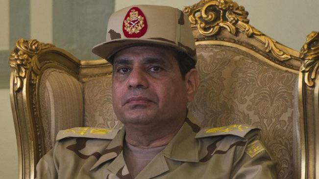 Menteri Pertahanan Mwsir Abdelfatah al-Sisi. (Foto AFP/ Khaled Desouki)