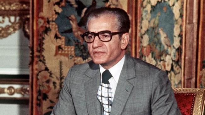 Shah Iran Mohammed Reza Pahlavi (1974) (Foto AFP)