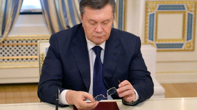 Viktor Yanukovych. (Foto AFP / Sergei Supinsky)