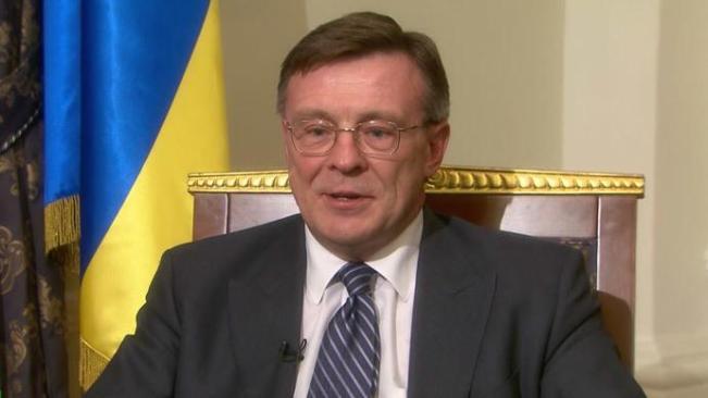 Menteri Luar Negeri Leonid Kozhara