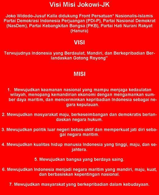"""* Kami, memilih menggunakan istilah """"Front Persatuan"""" untuk gagasan Jokowi """"koalisi tidak bagi-bagi kursi"""".  Yang gregetnya lebih dekat ke UUD 1945 ketimbang UUD 2002 cacat hukum itu."""