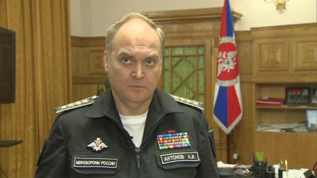 Deputi Menteri Pertahanan Rusia Anatoly Antonov (Citra diam dari video RT)