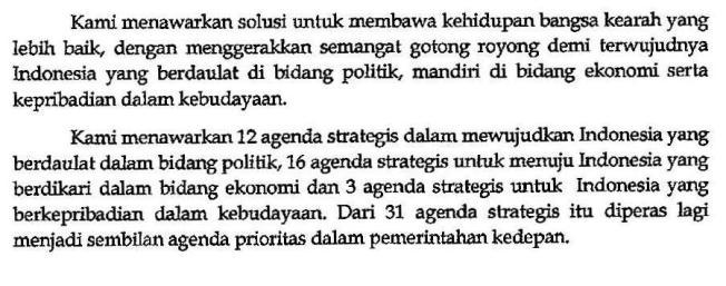 Visi Misi dan Program Aksi Jokowi-Jusuf Kalla 2014, hlm 6