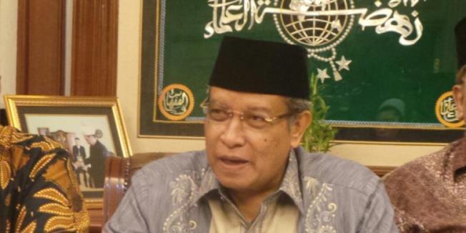 KOMPAS.com/DIAN MAHARANI Ketua Umum PB Nahdlatul Ulama Said Aqil Siroj