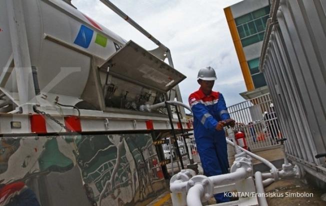 Penyaluran LNG Pertamina
