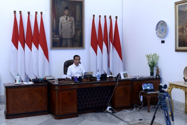 DK-145a-Jokowi Tetpakan Corona -- Bencana N